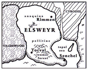 Lore Карта Эльсвейра