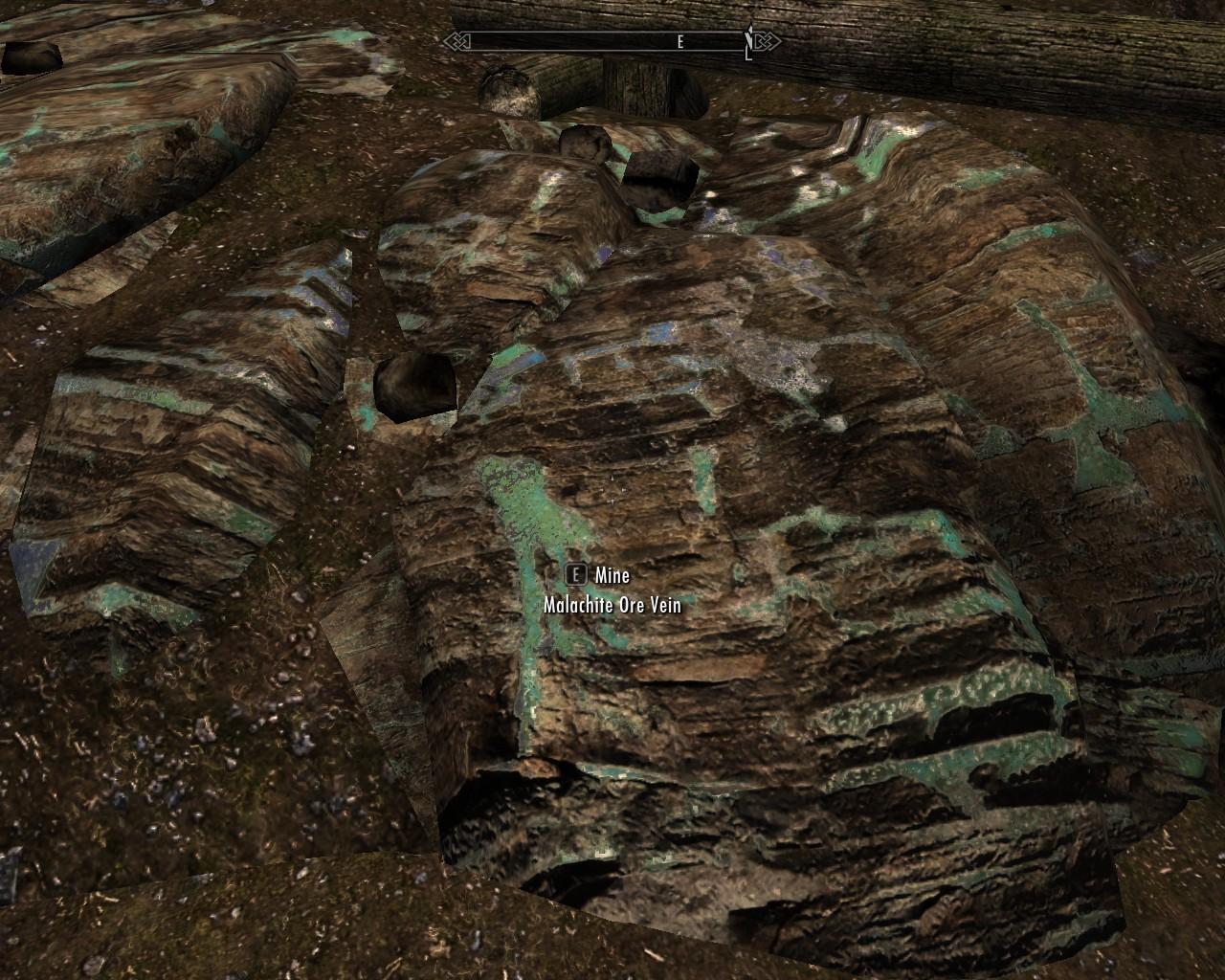 Where to find ebony ore in skyrim