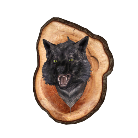 File:Mounted Wolf Head.png