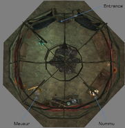 Nummu Yurt Interior Map