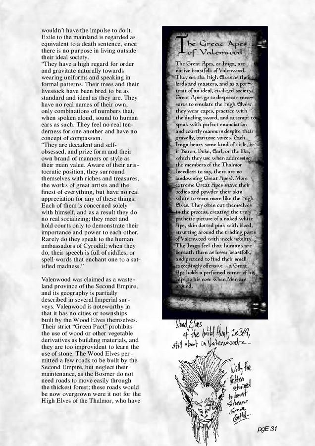 Pocket Guide to the Empire, First Edition – Aldmeri Dominion 3