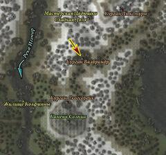 Курган Валбрандр (карта)