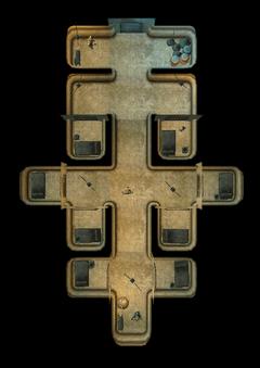 Тюремные камеры. План