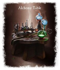 Akhemy table