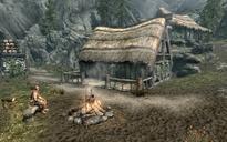 Campamento maderero Puente del Dragón casa