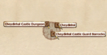 Cheydinhal Castle Guard Barracks InteriorMap