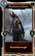 Reclusive Giant (Legends Beta) DWD