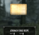 Atronach Forge Recipe