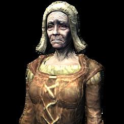 Бергитта Дочь Битвы (портрет)