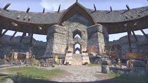 Здание в крепости Каменного зуба 5