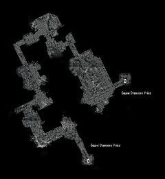 Пещера Отвесный Утёс - оплот - план