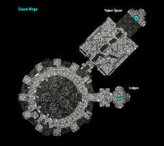 План локации Башня Мзарк