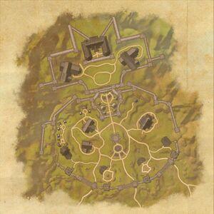 Северные врата Хай Рока (план)