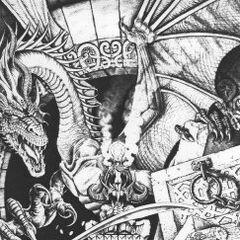 Cyrus vs Nafaalilargus – grafika koncepcyjna