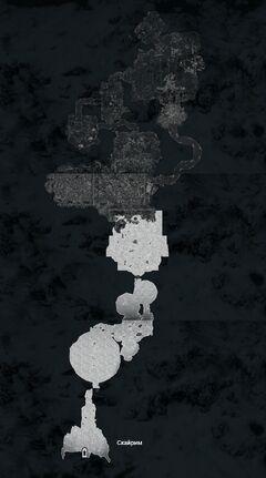 Закатная расселина - план