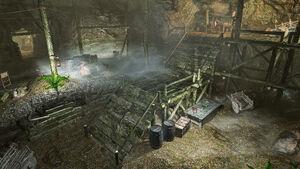 Мор-Казгур - шахта - общий вид