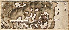 Секретный вход в Зазельм (Карта)