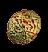 Газовый пузырь красной водоросли (иконка)