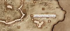 Пещера Потерянный Мальчик - карта