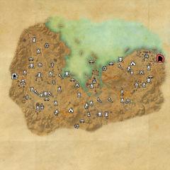 Стоунфоллз-Вороний лес-Карта