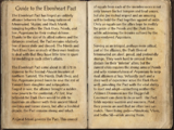 Guide to the Ebonheart Pact