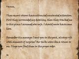 Note to Vanus