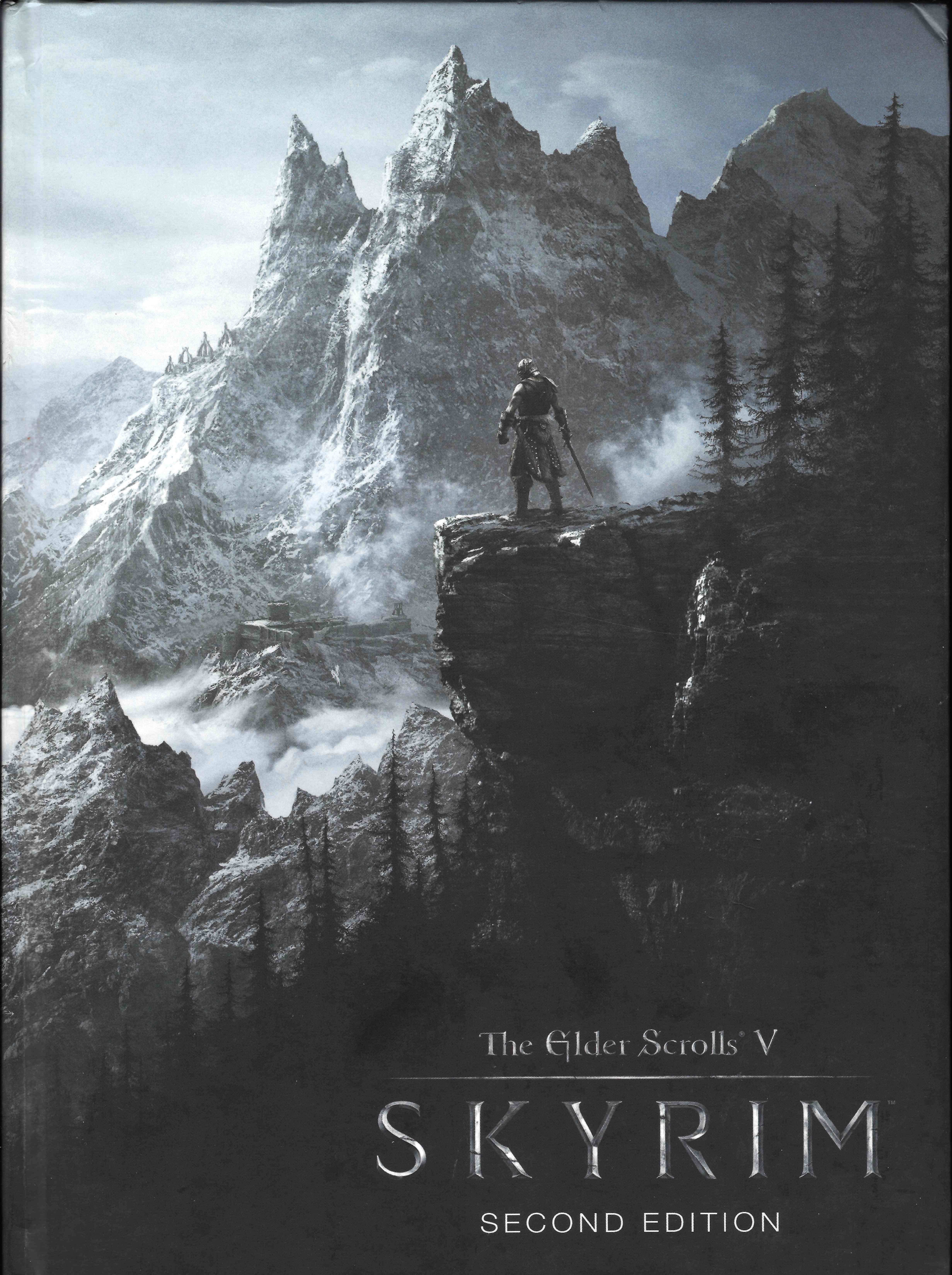 JAPAN The Elder Scrolls V Skyrim The Complete Guide Book