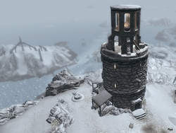 TESV Frostflow Lighthouse