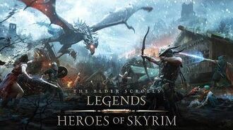 The Elder Scrolls Legends – видеоролик Heroes of Skyrim