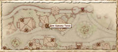 Дом Арвены Телас (Карта)