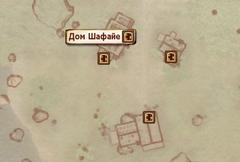 Дом Шафайе - карта