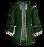 Зелёный парчовый дублет