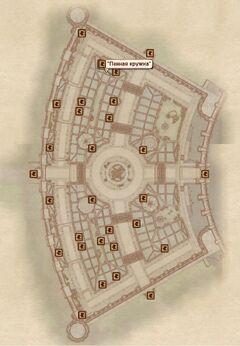Пенная кружка карта