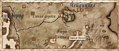 Чёрный Излом. Карта
