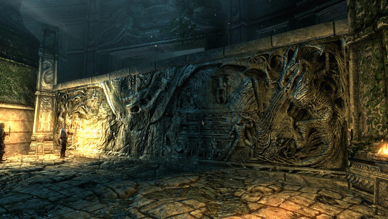how to make the elder scrolls arena full screen