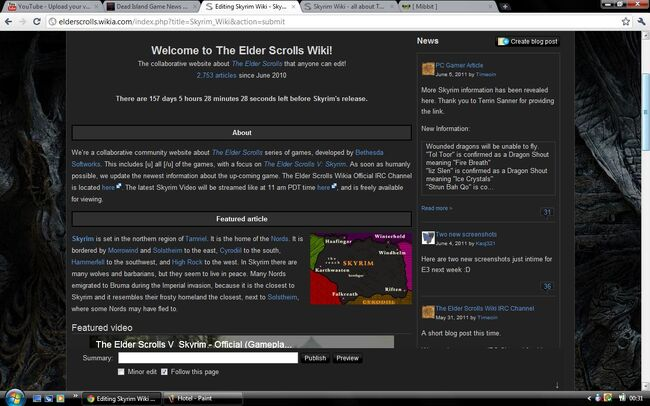 New Home Page 2011