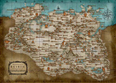 Skyrim world map rus