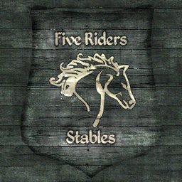File:TESIV Sign Five Riders Stable.png