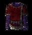 Красный бархатный блузон
