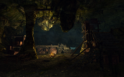 Fine delle grotte di Brinewater