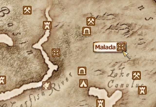 Malada elder scrolls fandom powered by wikia map gumiabroncs Images