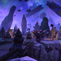 Nieznana z nazwy płaszczyzna Namiry z gry The Elder Scrolls Online