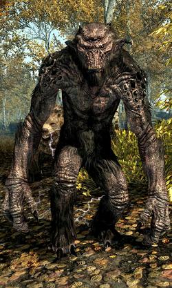 Troll Skyrim
