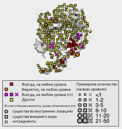 Гнарл - карта