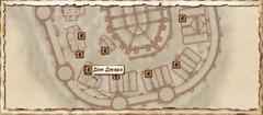 Дом Джерл. Карта
