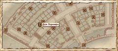 Дом Лоркмира. Карта