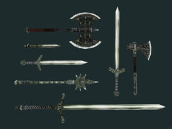 Северное серебряное оружие (Bloodmoon)