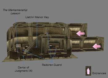 Guard Quarters map