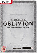Oblivion 5th Anniversary PC Cover