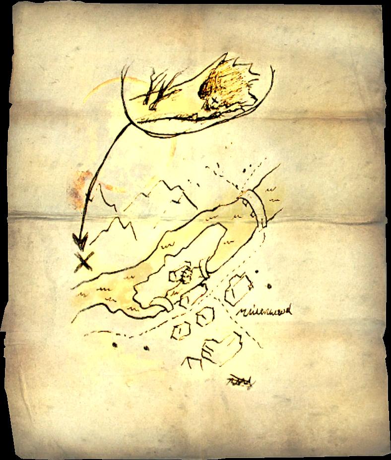 photograph about Printable Skyrim Map titled Treasure Maps (Skyrim) Elder Scrolls FANDOM run as a result of Wikia